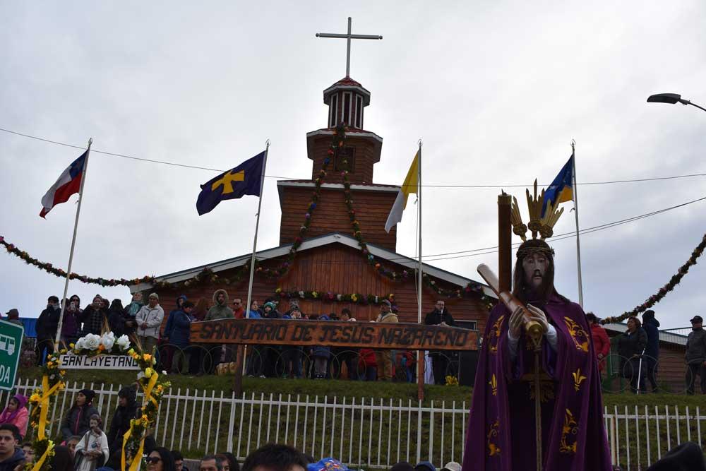 Agradecimiento por la festividad 2019 en honor a Jesús Nazareno en Punta Arenas