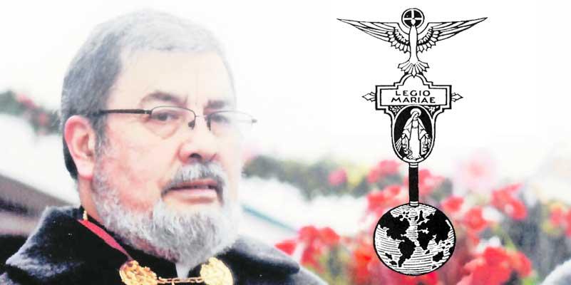Legión de María celebra eucaristía en memoria del P. Miguel Velásquez