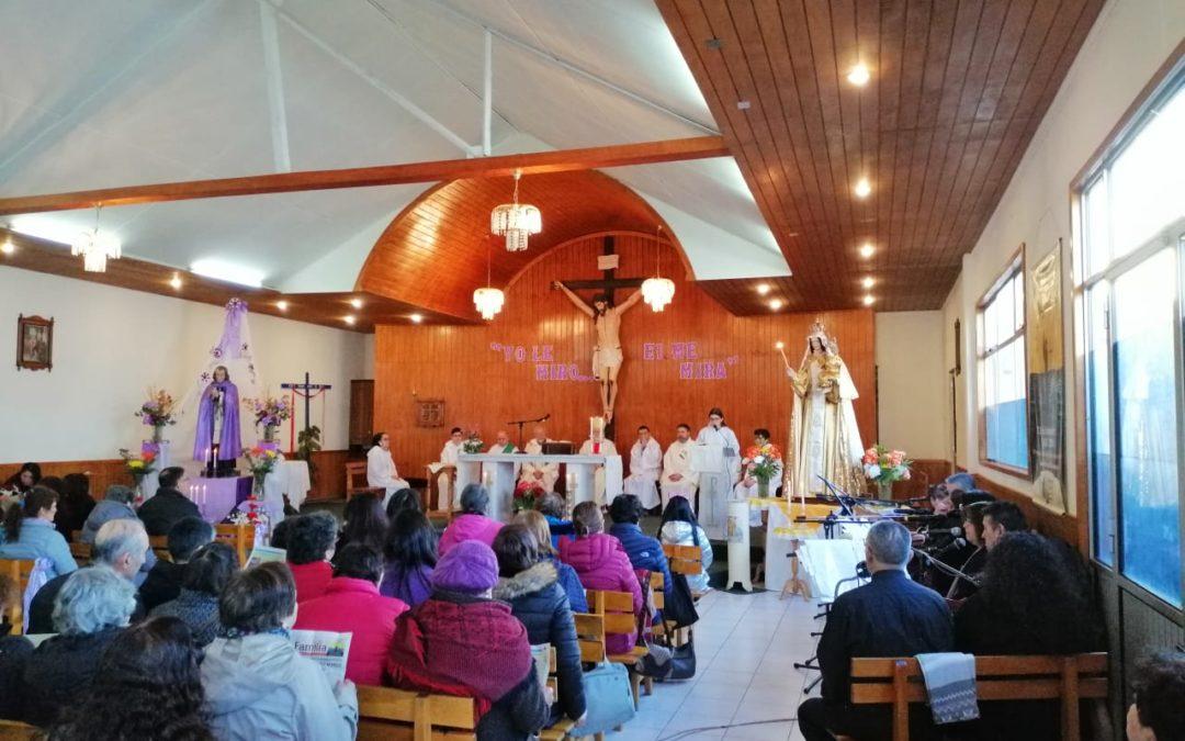 Celebración de la fiesta de Santo Cura de Ars