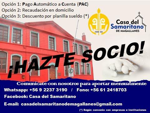 AVISO DE CASA SAMARITANO